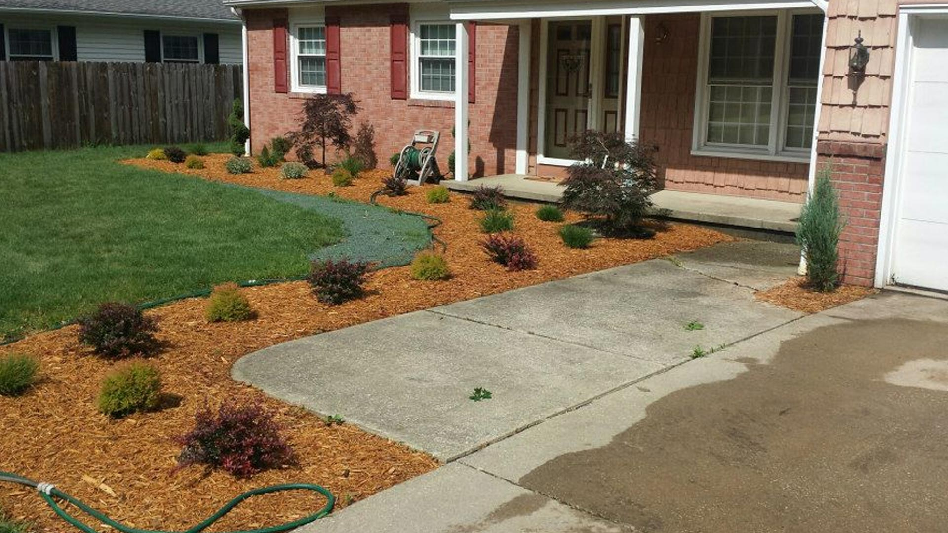 We design and install landscaping in Ashtabula, OH.